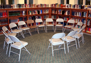 library book circle