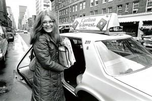 Gloria Steinem Taxi