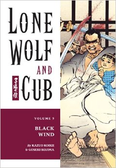 Lone Wolf and Cub, Vol. 5: Black Wind Book Cover
