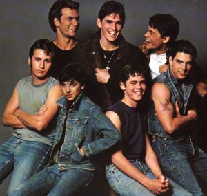 OUTSIDERS, THE, Emilio Estevez, Patrick Swayze, Ralph Macchio, Matt Dillon, C. Thomas Howell, Rob Lowe, Tom Cruise, 1983