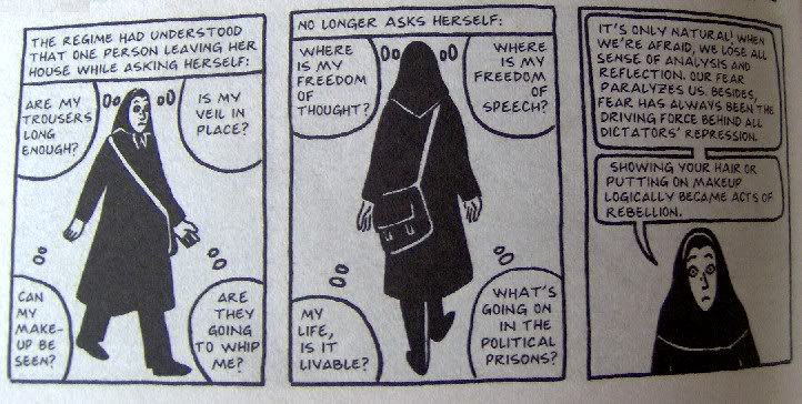 Complete Persepolis Fear Thought