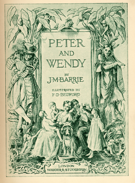 Peter and Wendy Book Cover