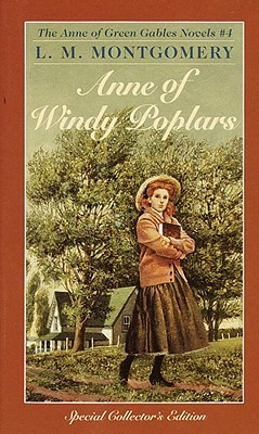 Anne of Windy Poplars Book Cover